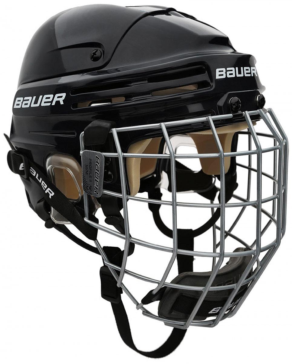 Шлем Bauer  4500 Combo , цвет: черный. 1044665. Размер M - Хоккей