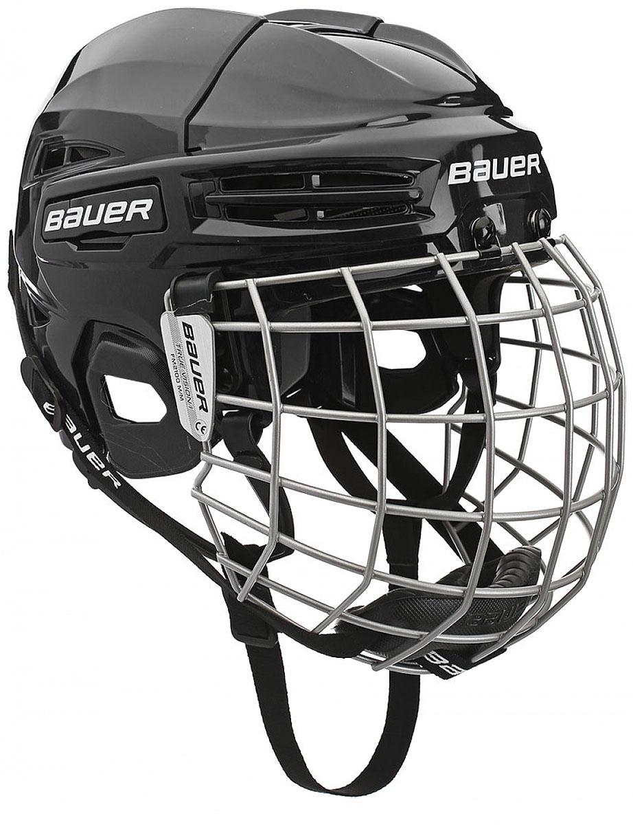Шлем Bauer  IMS 5.0 , цвет: черный. 1045678. Размер S - Хоккей
