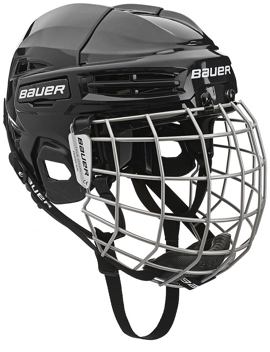 Шлем Bauer  IMS 5.0 , цвет: черный. 1045678. Размер L - Хоккей
