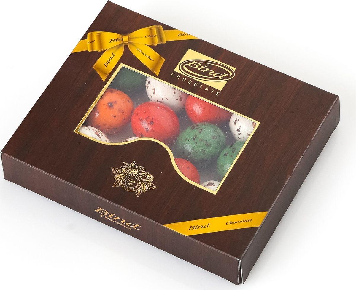 Bind шоколадные перепелиные яйца, 100 гPCK-6514.100100% шоколад, натуральный состав. Изящный дизайн упаковки. Отличный вариант для стильного подарка по любому поводу и на каждое событие.