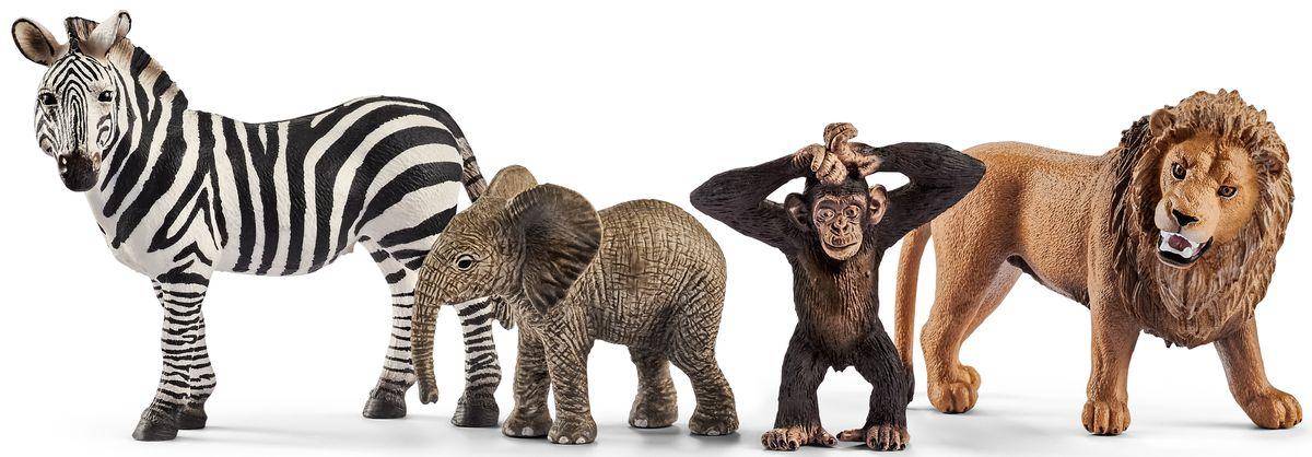 Schleich Набор фигурок Дикие животные фигурки игрушки schleich набор древние травоядные животные
