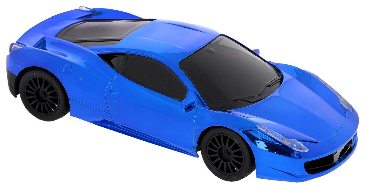 Yako Машина на радиоуправлении цвет синий металлик игрушечные машинки на пульте управления по грязи купить