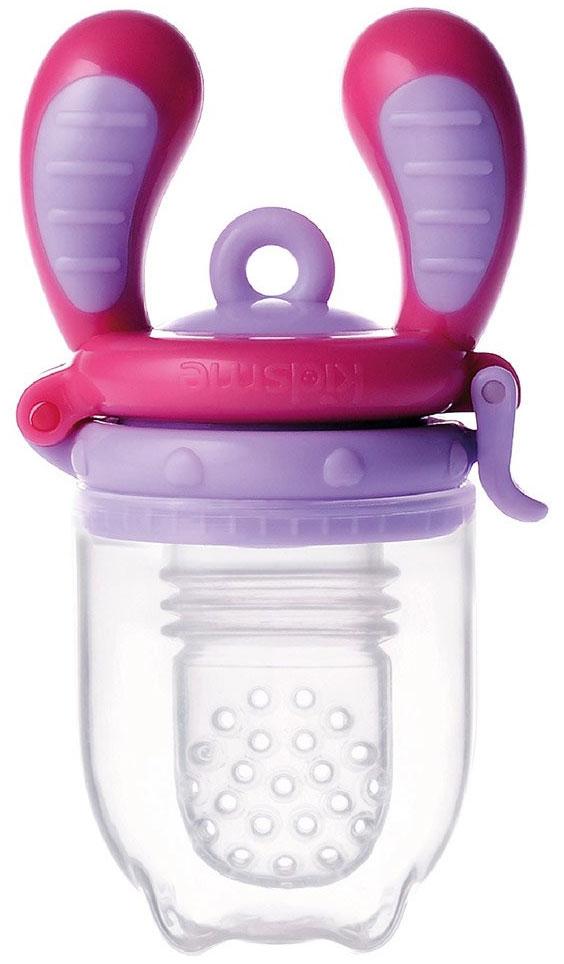 Kidsme Ниблер Фуд Фидер размер M от 4 месяцев цвет лавандовый аксессуары для бутылочек и поильников kidsme цепочка для фуд фидера