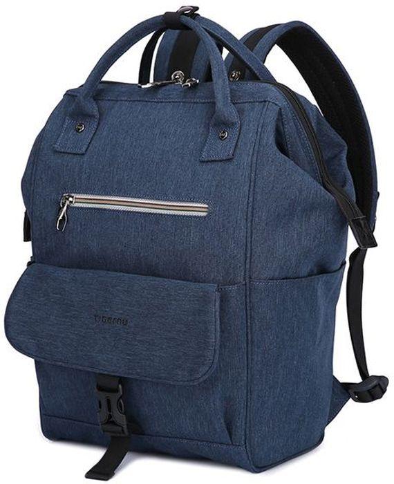 Tigernu T-B3184, Blue рюкзак для ноутбука 132000000155210Tigernu T-B3184 - универсальная модель, которая выполнена в стиле унисекс. Рюкзак подходит для использования в городе и за его пределами. Если вы ищите удобную модель для путешествий и поездок Tigernu T-B3184 - оптимальный выбор.Особенностью модели является возможность ее трансформации во вместительную сумку, которая открывается как саквояж. Рюкзак идеально подходит для использования в любое время года. Он выполнен из прочного, современного материала, устойчивого к промоканию и механическим повреждениям.Модель Tigernu T-B3184 отличается вместительностью, которую обеспечивает основное отделение с органайзером и многочисленными секциями, а также внешние карманы на молнии и защелке. По бокам расположены секции для термоса или бутылки с водой.Модель хорошо держит форму не зависимо от степени ее наполненности.