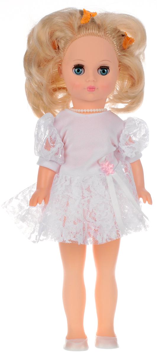 Весна Кукла Мила цвет одежды белый