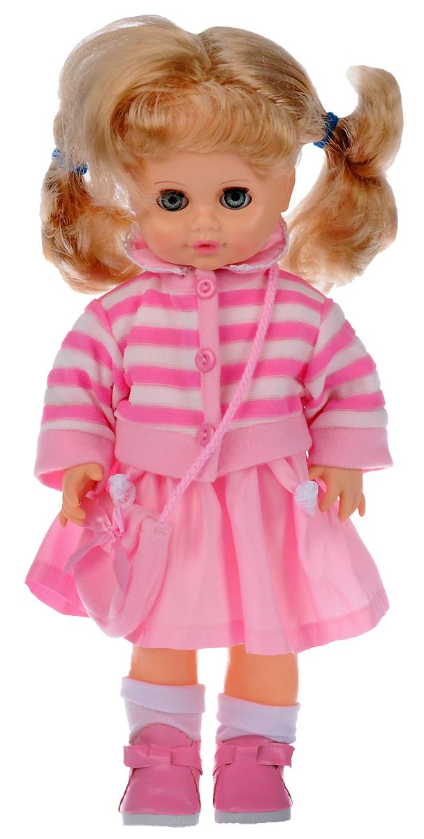 Весна Кукла озвученная Инна цвет одежды розовый белый