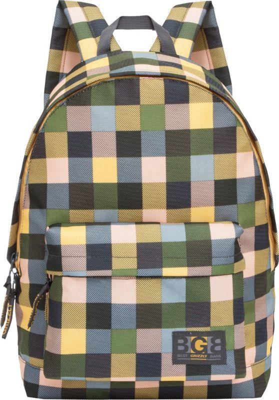 Рюкзак молодежный Grizzly, 15,5 л. RL-850-4/3RL-850-4/3Рюкзак молодежный Grizzly - лаконичная и очень удобная модель, в которую поместится все: школьные принадлежности и завтрак, одежда и многое другое. Рюкзак, выполненный из полиэстера, имеет одно отделение, объемный карман на молнии на передней стенке, внутренний карман для электронных устройств. Благодаря текстильной ручке рюкзак можно повесить, а подвесная система позволяет регулировать лямки и тем самым адаптировать изделие под рост владельца.