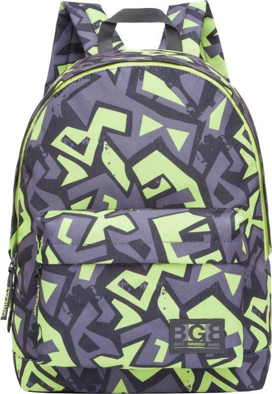Рюкзак молодежный Grizzly, 15,5 л. RL-850-4/4RL-850-4/4Рюкзак молодежный Grizzly - лаконичная и очень удобная модель, в которуюпоместится все: школьные принадлежности и завтрак, одежда и многое другое. Рюкзак имеет одно отделение, объемный карман на молнии напередней стенке, внутренний карман для электронных устройств. Благодаря текстильной ручкерюкзак можно повесить, а подвесная система позволяет регулировать лямки и тем самымадаптировать изделие под рост владельца.
