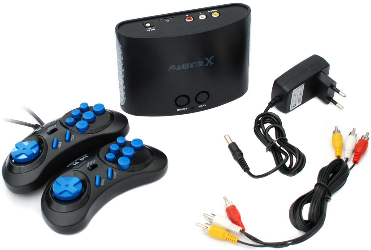 DVTech Sega Magistr Drive Х, Black игровая приставка (160 игр) игровая приставка sega magistr drive 2 lit 65 игр