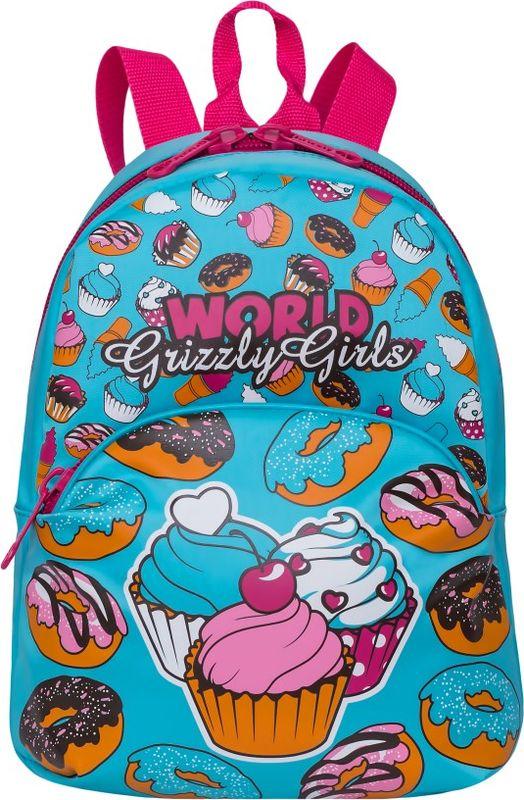 Рюкзак молодежный Grizzly, 7 л. RL-897-4/1RL-897-4/1Рюкзак молодежный Grizzly - лаконичная и очень удобная модель, в которую поместится все: школьные принадлежности и завтрак, одежда и многое другое. Рюкзак, выполненный из нейлона, имеет одно отделение, объемный карман на молнии на передней стенке, внутренний подвесной карман на молнии. Благодаря текстильной ручке рюкзак можно повесить, а подвесная система позволяет регулировать лямки и тем самым адаптировать изделие под рост владельца.