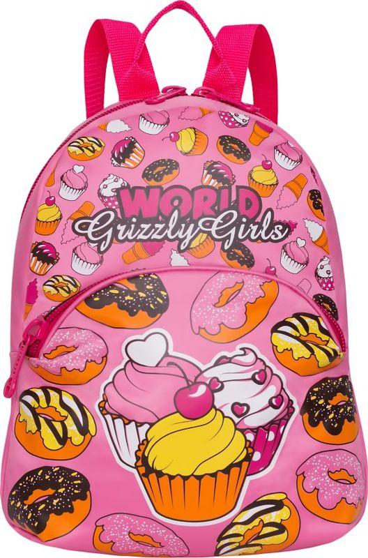Рюкзак молодежный Grizzly, 7 л. RL-897-4/2RL-897-4/2Рюкзак молодежный Grizzly - лаконичная и очень удобная модель, в которую поместится все: школьные принадлежности и завтрак, одежда и многое другое. Рюкзак, выполненный из нейлона, имеет одно отделение, объемный карман на молнии на передней стенке, внутренний подвесной карман на молнии. Благодаря текстильной ручке рюкзак можно повесить, а подвесная система позволяет регулировать лямки и тем самым адаптировать изделие под рост владельца.