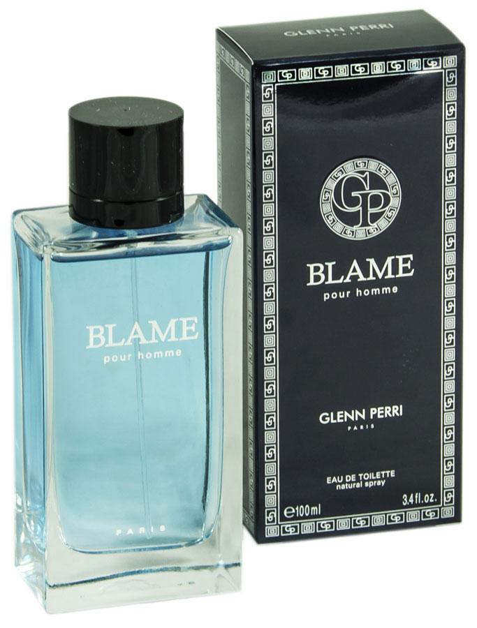 Geparlys Туалетная вода Blame Men Parfums Glenn Perri, 100 мл3700134407450Мускусно-пряная композиция Geparlys Glenn Perri Blame Pour homme насыщена самыми разнообразными оттенками, которые вам не захочется выделять - вы будете просто вдыхать ее и наслаждаться этим гармоничным ароматом. Едва открыв флакон, вы чувствуете, как пространство наполняется запахом апельсинов, затем композиция раскрывается букетом из редких сортов голубых гиацинтов и герани в обрамлении пряного духа мускатного шалфея и благородного кедра. Тонкий мускусный подтон придает парфюму чувственность. Основная парфюмерная композиция: бергамон, лимон, цветок апельсина, герань, мускатный шалфей, мускус.Краткий гид по парфюмерии: виды, ноты, ароматы, советы по выбору. Статья OZON Гид