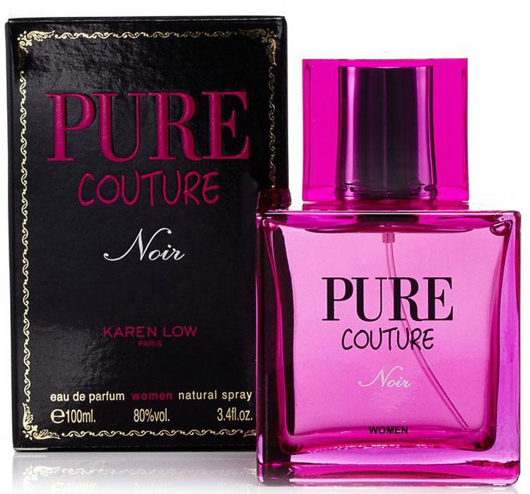 Geparlys Парфюмерная вода Pure Couture Noir Women Karen Low, 100 мл3700134407054Geparlys Pure Couture Noir Karen Low - немного дерзкий и раскрепощенный аромат, покоряет своим образом роковой дивы и своим небрежным шиком. Композиция посвящена неоднозначному и любопытному, яркому и самому экстравагантному стилю Глэм - панк, который превращает женственность, кокетливость и нежность в сексуальность, откровенность и чувственность. Основная парфюмерная композиция: яблоко, мандарин, фрезия, герань, персик.Краткий гид по парфюмерии: виды, ноты, ароматы, советы по выбору. Статья OZON Гид