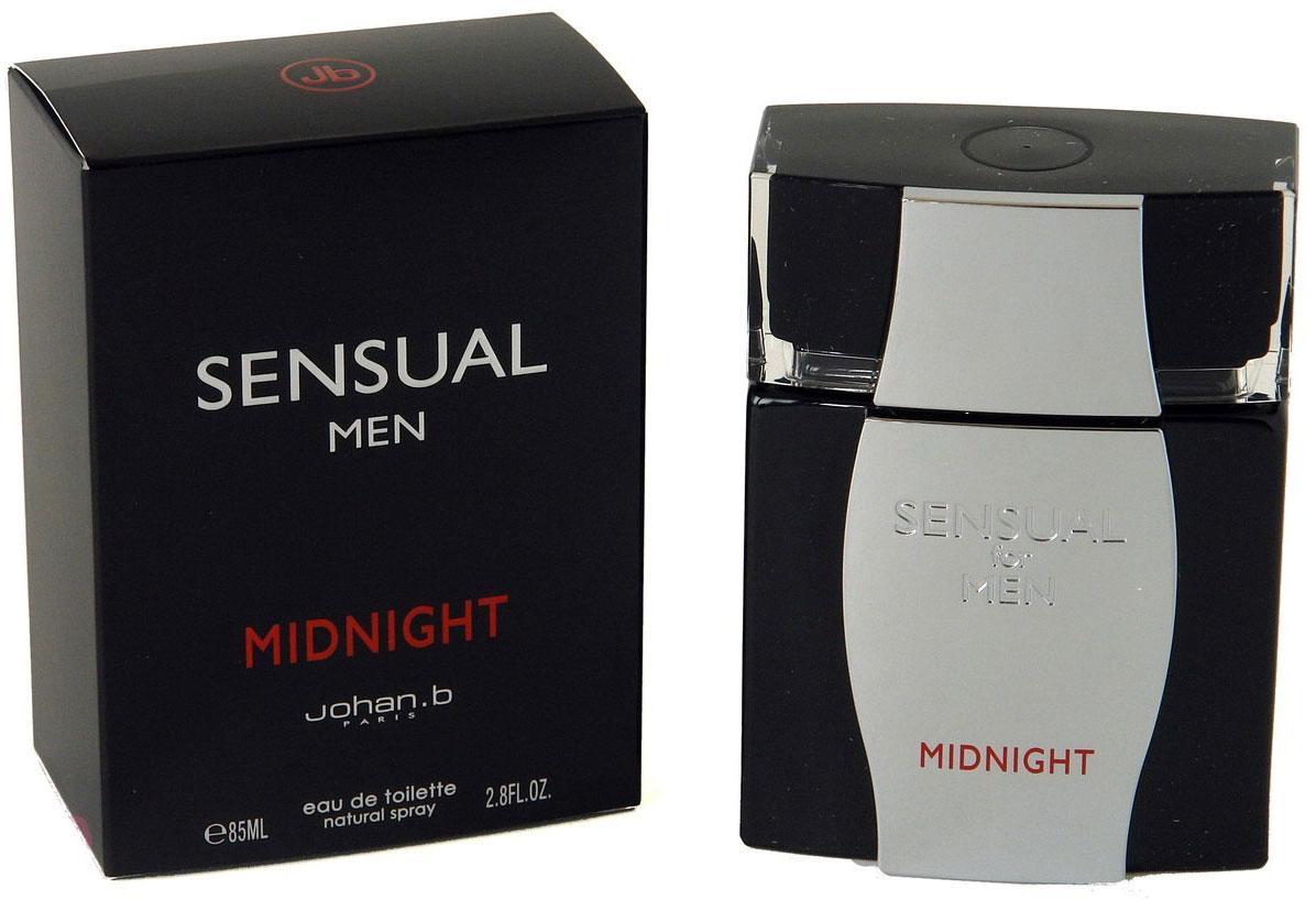 парфюмерная вода geparlys парфюмерная вода sensual women линии johan b Geparlys Туалетная вода Sensual Mid Night Johan B, 85 мл