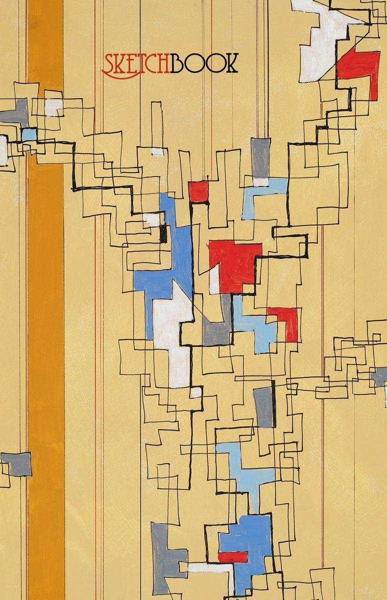 Канц-Эксмо Скетчбук Абстракция 80 листов формат А5+ скетчбук эксмо а6 80л зоопарк твердая обложка без линовки евроспираль