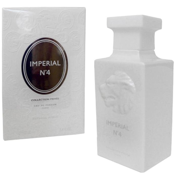 Geparlys Туалетная вода Imperial White № 4 Privee, 100 мл3700134408990Парфюм открывает тайну истинных наслаждений, нашептывает на ухо нечто весьма соблазнительное, искушая Вас. Парфюм Imperial White №4 от Geparlys готов показать своему обладателю, что Вы можете изменить все в своей жизни. Благодаря мистической загадке цветочных тональностей, аромат оставит приятное впечатление в умах окружающих благородством и мужественностью мускуса и древесных аккордов. Фужерная композиция на основе розмарина, кардамона, грейпфута, иланг-иланга, туберозы, кедра и кожи освежает и наполняет энергией не только своего обладателя, но и окружающих.