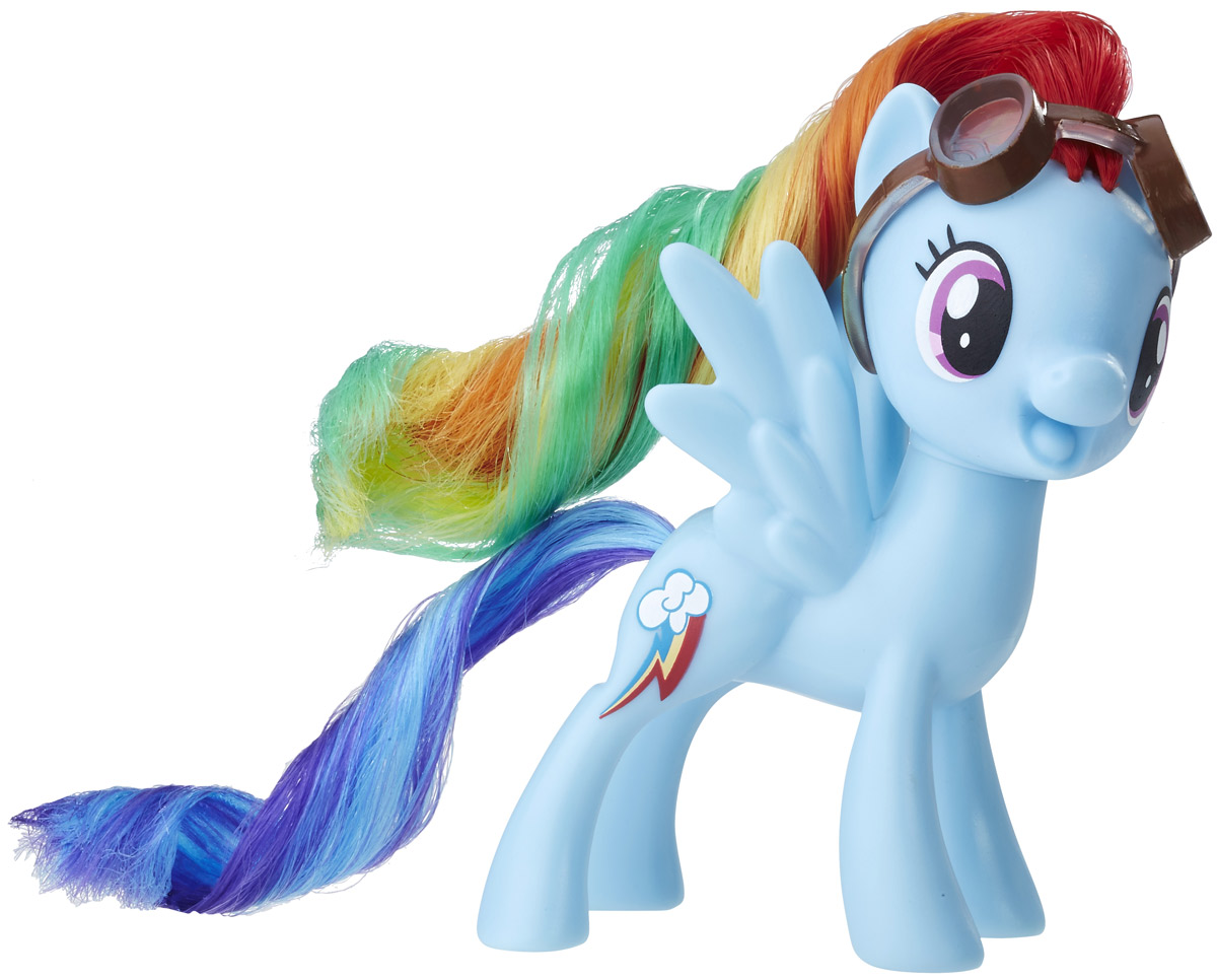 My Little Pony Фигурка Rainbow Dash my little pony фигурка пони эпл джек в сумочке