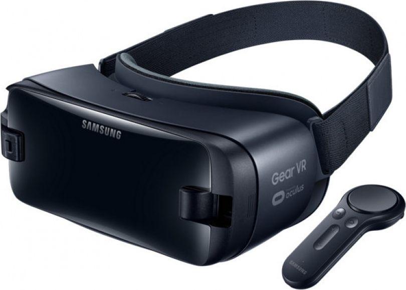 SamsungSM-R325 Gear VR, Dark Blue очки виртуальной реальности с джойстиком