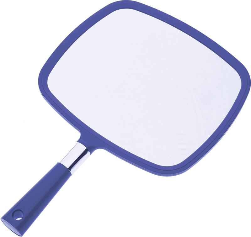 Dewal Зеркало заднего вида, с ручкой, цвет: синий, 33,5 см х 23 см