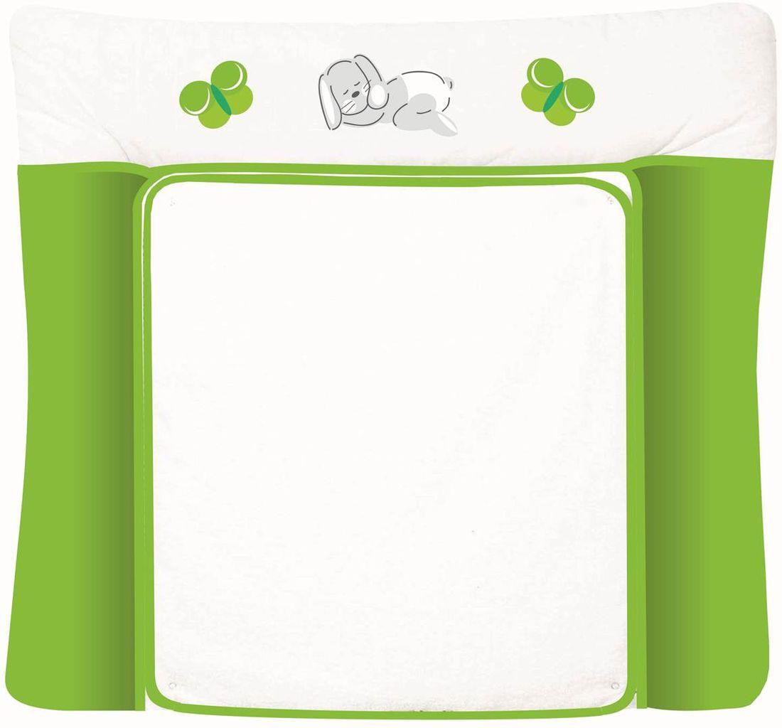 Polini Доска пеленальная Зайки цвет зеленый 0001347-4