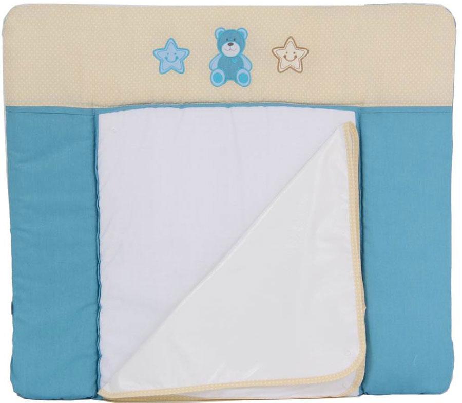 Polini Доска пеленальная Плюшевые мишки цвет голубой 0001351-1