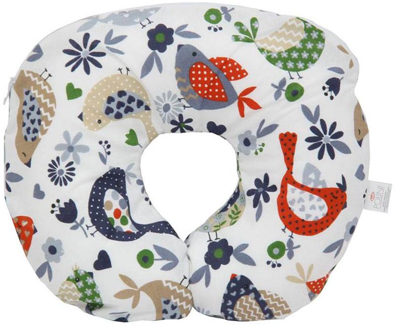 Polini Подушка-воротник детская Кантри цвет красный0001417.24.5Подушка обеспечивает хорошую поддержку головы и шеи младенца.Имеет два уровня регулировки размера для шеи ребенка за счет петельки и пуговиц.Имеет съемный чехол на молнии.Наполнитель: шарики из пенополистирола.Материал верха: 100% хлопок.Размеры изделия: 31 х 26 х 6 см.