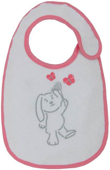 Polini Набор нагрудников для кормления Зайки цвет розовый 3 шт -  Все для детского кормления