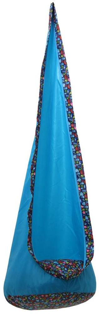 Polini Кресло-качели Кокон цвет голубой