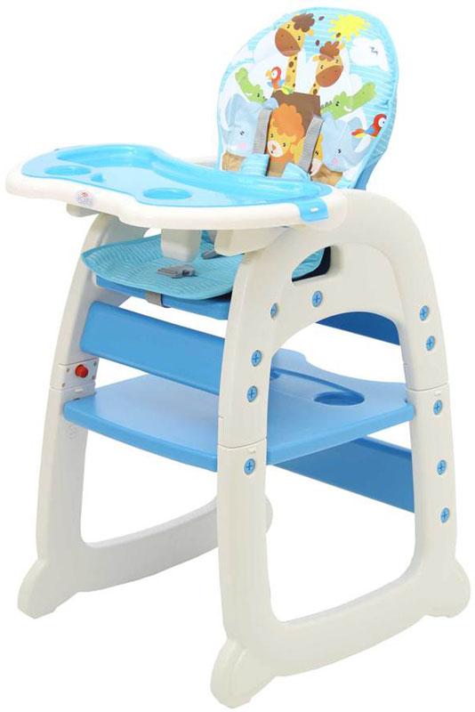 Polini Стульчик для кормления 460 цвет синий стульчики для кормления polini 460