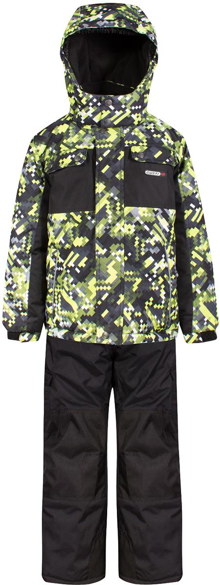 Комплект верхней одежды для мальчика Gusti, цвет: лайм. GWB 4635-ACID LIME. Размер 150