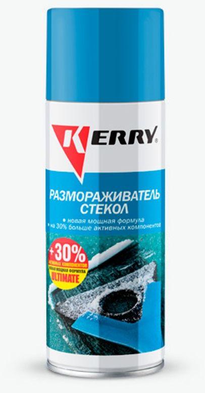 Размораживатель стекол и замков KERRY, 520 мл. KR-986KR-986Размораживатель стекол и замков KERRY быстро и эффективно удаляет снег, наледь и изморозь с зеркал, стекол и фар автомобиля, а также щеток стеклоочистителей и очистителей фар. Позволяет избежать царапин на стеклах, трещин и разрывов резиновых уплотнителей, которые появляются при устранении льда скребком. Сокращает время подготовки автомобиля к поездке (не требуется длительный прогрев салона). Не воздействует на лакокрасочное покрытие кузова машины, резиновые и пластиковые детали. Не оставляет разводов и не создает бликов на стекле.