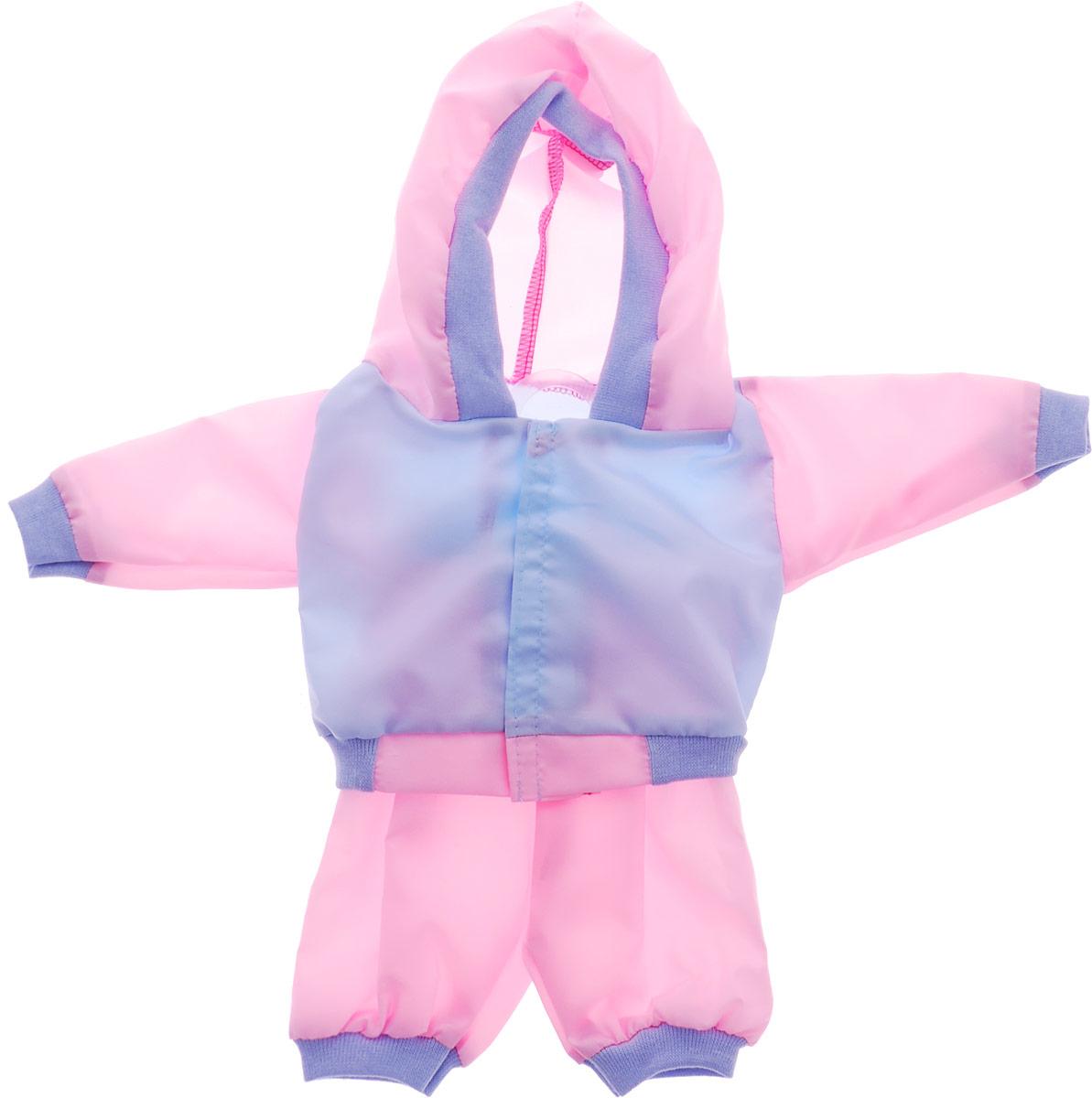 Mary Poppins Одежда для кукол Спортивный костюм цвет голубой розовый
