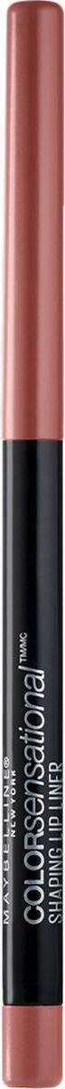 Maybelline New York Карандаш для губ Color Sensational, оттенок 20, Нюдовое ИскушениеB2851300Впервые насыщенный и стойкий цвет в удобной форме карандаша для губ. 8 оттенков подобраны таким образом, чтобы сочетаться с самыми популярными и разнообразными оттенками помады.