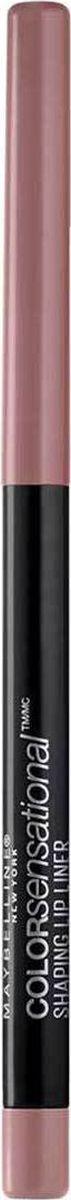 Maybelline New York Карандаш для губ Color Sensational, оттенок 50, Пыльная РозаB2851600Впервые насыщенный и стойкий цвет в удобной форме карандаша для губ. 8 оттенков подобраны таким образом, чтобы сочетаться с самыми популярными и разнообразными оттенками помады.
