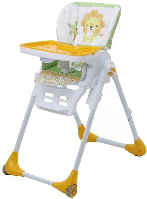 Polini Стульчик для кормления Classic Джунгли цвет желтый стульчики для кормления polini 460