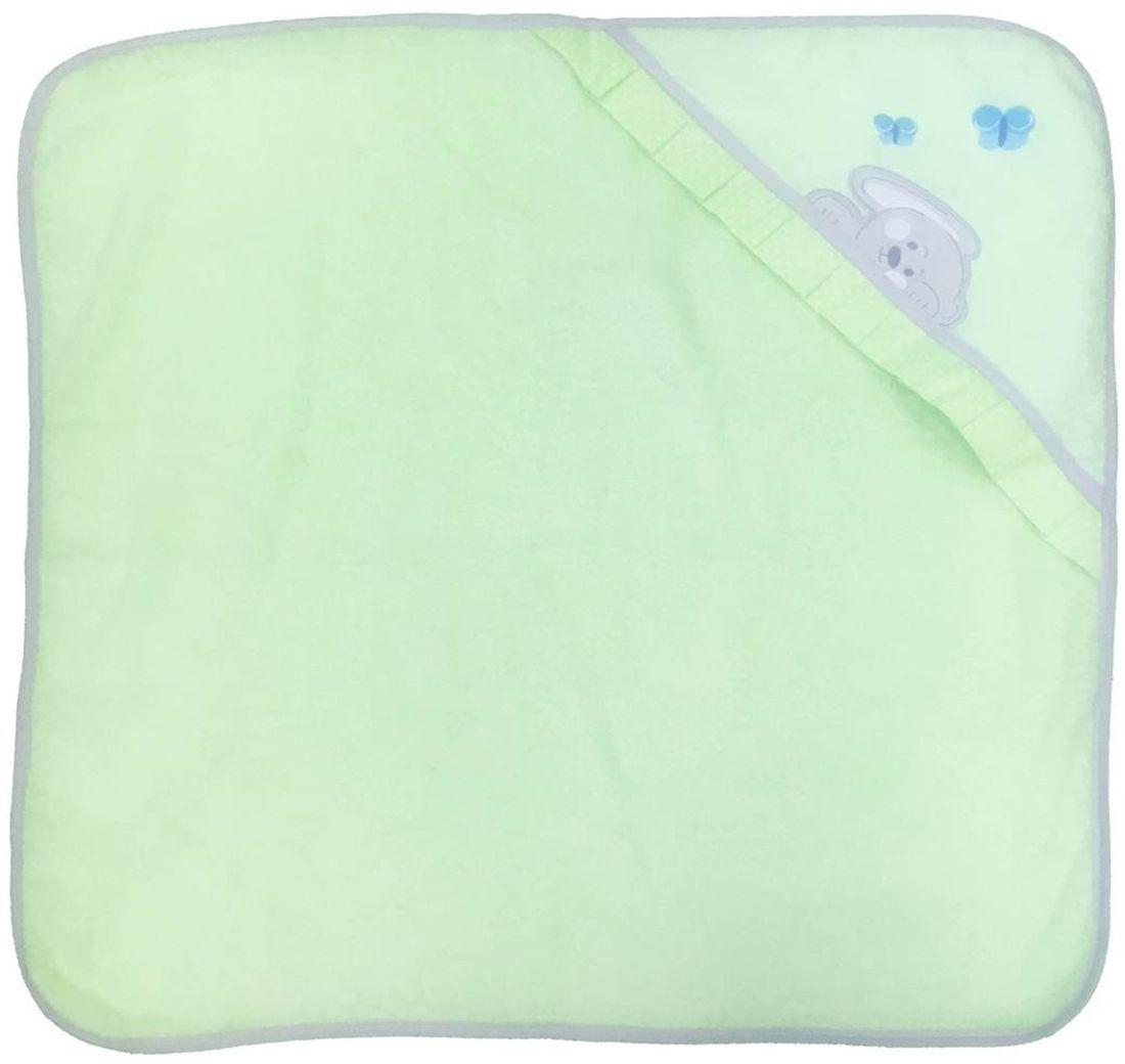 Polini Комплект для купания Зайки цвет зеленый 2 предмета мобили henglei зайки с батарейками
