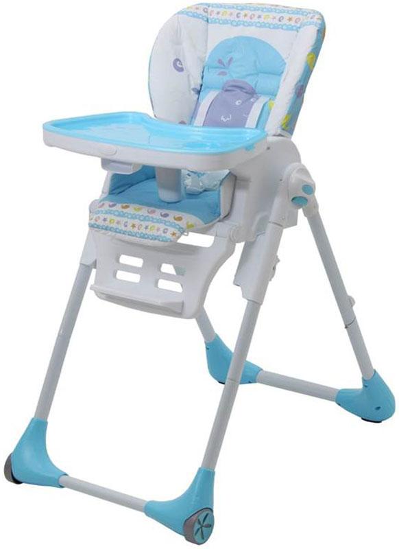 Polini Стульчик для кормления Classic Морская история цвет голубой стульчики для кормления polini 460