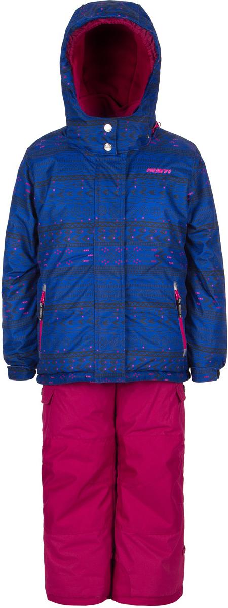 Комплект верхней одежды для девочки Gusti, цвет: голубой, розовый . GWG 3302-BLUE SURF. Размер 112GWG 3302-BLUE SURFКомплект Gusti состоит из курки и полукомбинезона. Ткань верха: мембрана с коэффициентом водонепроницаемости 5000 мм и коэффициентом паропроницаемости 5000 г/м2, одежда ветронепродуваемая. Благодаря тонкому полиуретановому напылению изнутри не промокает даже при сильной влаге, но при этом дышит (защита от влаги не препятствует циркуляции воздуха). Плотность ткани Т190 обеспечивает высокую износостойкость. Утеплитель: тек-Полифилл (Tech-Polyfil) - 280г/м2, силиконизированый полиэстер изготовленный по новейшим технологиям, удерживает тепло при температуре до -30 С. Очень мягкий, создающий объем для сохранения тепла. Высокоэффективный, обладающий повышенной устойчивостью к сжатию (после стирки в стиральной машине изделие достаточно встряхнуть), обеспечивающий хорошую вентиляцию, обладающий прекрасным, теплоизолирующими свойствами синтетический материал. Главные преимущества Тек-Полифила – одежда более пушистая на ощупь и менее тяжелое по весу. Подкладка: высокотехнологичный флис COOLQUICK. Специальное кручение нитей позволяет ткани максимально впитывать влагу и увеличивать испаряемость с поверхности, т.е. выпустить пар, но не пропускает влагу снаружи, что обеспечивает комфорт даже при высоких физических нагрузках. Этот материал ранее был разработан специально для спортсменов, которые испытывали сильные нагрузки во время активного движения, а теперь принес комфорт и тепло в нашу повседневную жизнь. Это особенно важно для детей, когда они гуляют на свежем воздухе, чтобы тело всегда оставалось сухим и теплым. В этой одежде им будет тепло в течение длительного времени и нет необходимости надевать теплый свитер. Верхняя одежда GUSTI просто чистится. Стирать одежду придется очень редко – только при сильных загрязнениях. Если малыш забрался в лужу или грязь, просто вытрите пятно влажной тряпкой.
