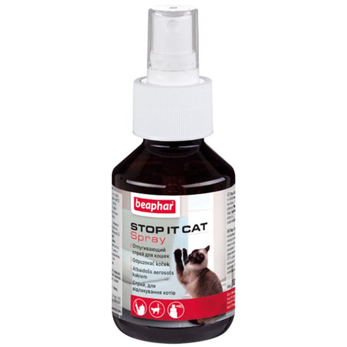 Спрей для кошек Beaphar Stop-it Cat, отпугивающий, 100 мл13207Спрей Beaphar Stop-it Cat предназначен отпугивания котов и кошек. Поможет вам отвадить кошек от мест, где их пребывание нежелательно. Надежно защитит предметы обихода от порчи или загрязнений кошками. Способ применения: обработайте места, где присутствие кошек нежелательно (с расстояния 30 см). Повторяйте каждые 24 часа, пока эти посещения не прекратятся. Состав: метилнонилкетон 14 г/л. Объем: 100 мл. Товар сертифицирован.Уважаемые клиенты!Обращаем ваше внимание на возможные изменения в дизайне упаковки. Качественные характеристики товара остаются неизменными. Поставка осуществляется в зависимости от наличия на складе.