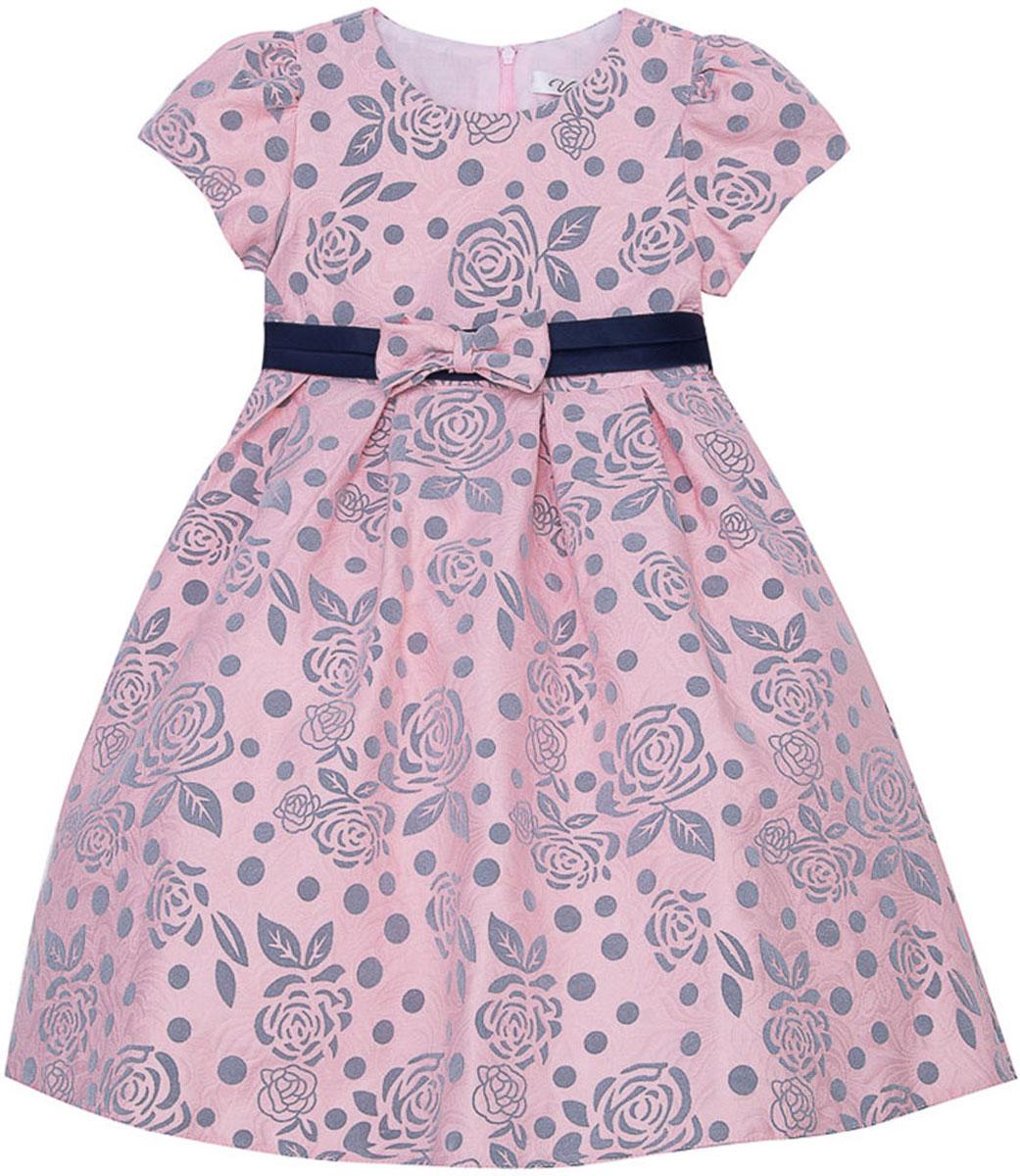 Платье для девочки Vitacci, цвет: розовый. 2171394-11. Размер 1102171394-11