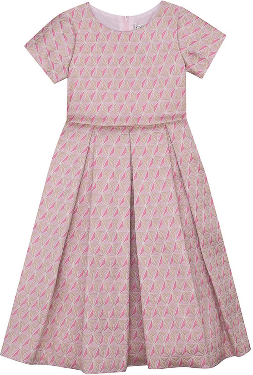 Платье для девочки Vitacci, цвет: розовый. 2171396-11. Размер 1002171396-11