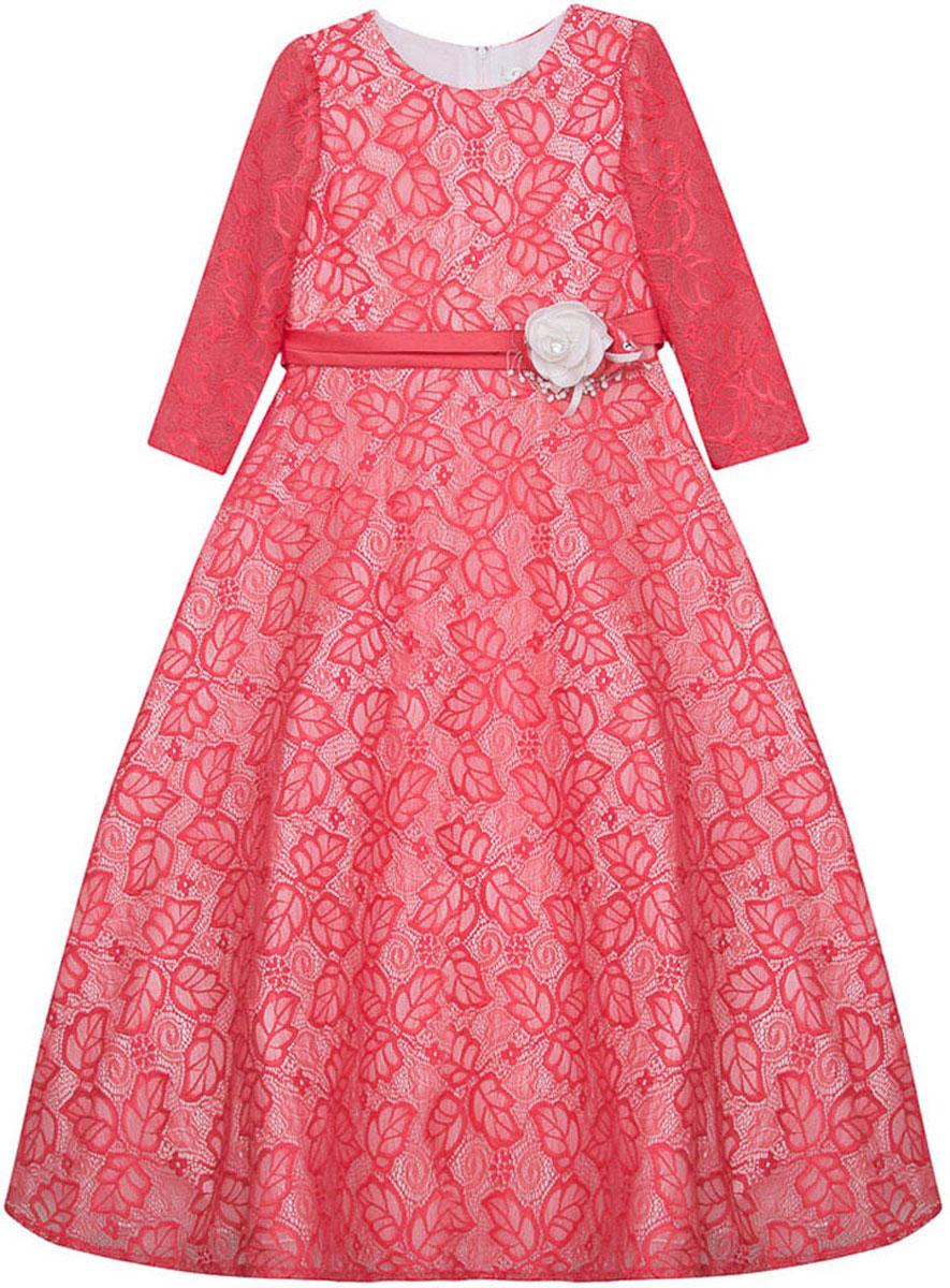 Платье для девочки Vitacci, цвет: розовый. 2171403-11. Размер 1402171403-11