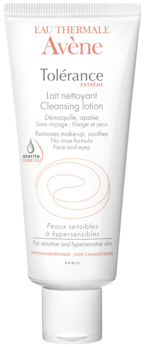 Avene Tolerance Extreme Очищающее молочко для сверхчувствительной кожи, не требующее смывания D.E.F.I., 200 мл лосьон для лица avene для сверхчувствительной кожи 200 мл очищающий