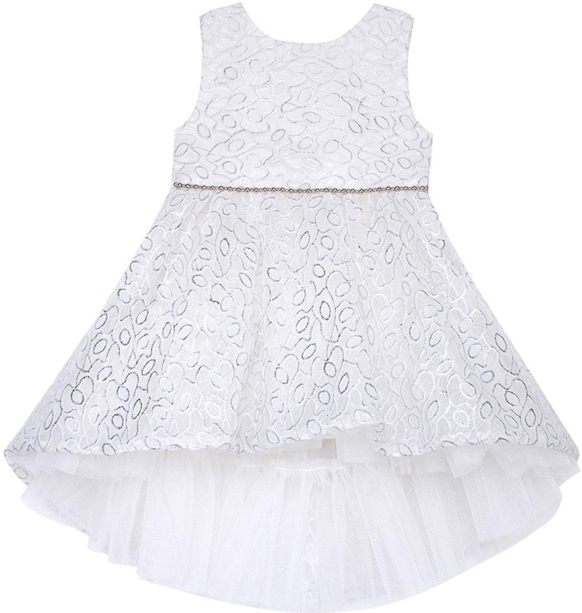 Платье для девочки Vitacci, цвет: серый. 2171408-02. Размер 802171408-02