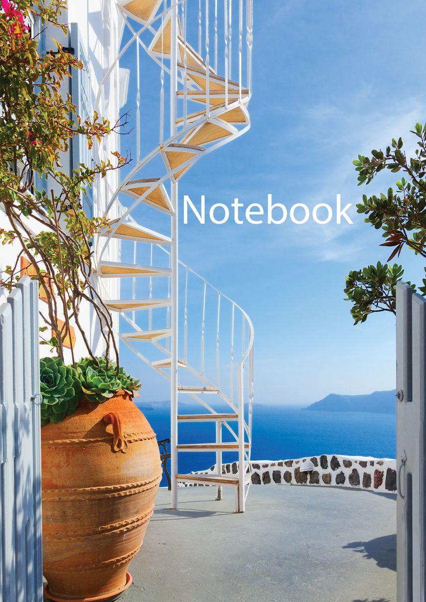 Блокнот Греция 80 листов цвет голубой формат А602-1017Оригинальный блокнот послужит прекрасным местом для записей.Такой блокнот станет отличным подарком для ваших близких и друзей.