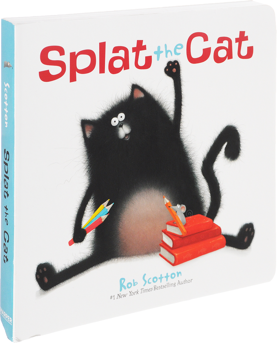 Splat the Cat rob scotton splat the cat and the snowy day surprise