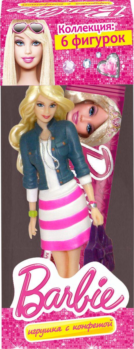 Barbie жевательная конфета с игрушкой, 22 г купить ken barbie