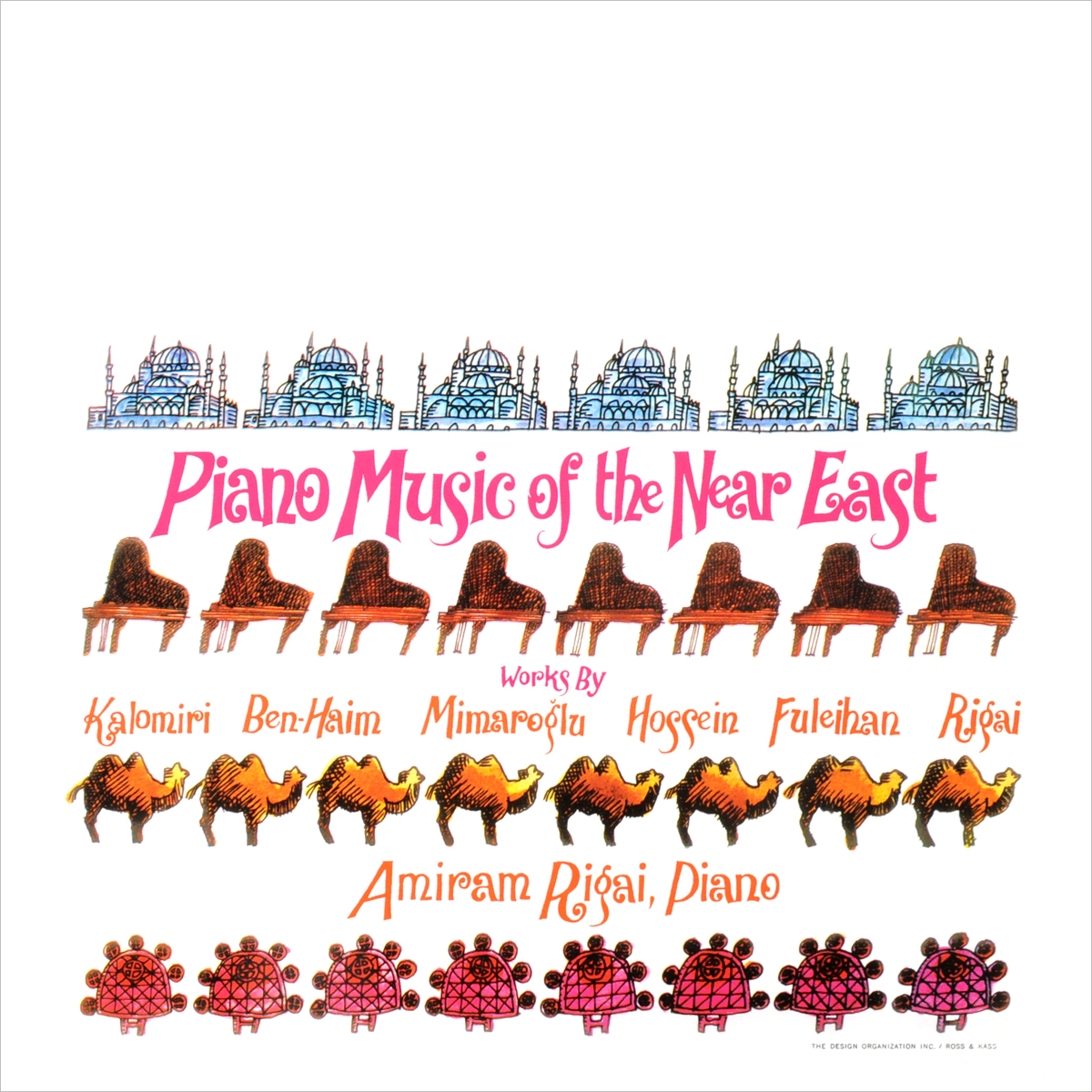 Kalomira Saranti,Мимароглу Ильхан,Рене М. Ригал Piano Music Of The Near East (LP) roxy music roxy music the studio albums limited edition 8 lp
