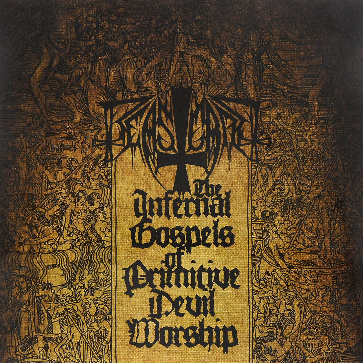 Beastcraft Beastcraft. The Infernal Gospels Of Primitive Devil Worship (LP) the fifth letter
