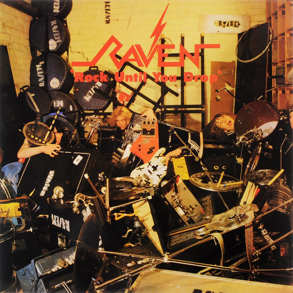Raven Raven. Rock Until You Drop (2LP) raven flight